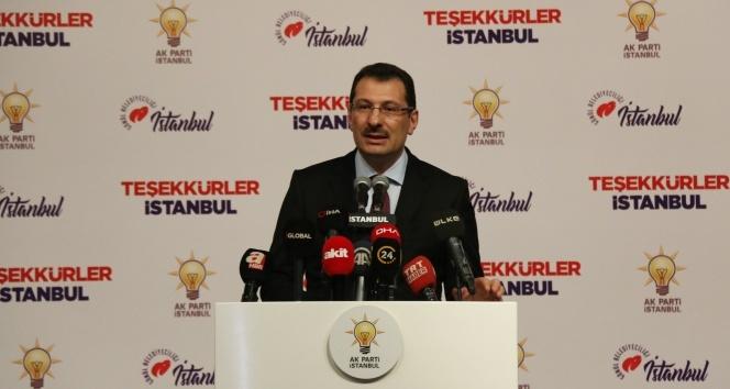 AK Parti'li Yavuz'dan İstanbul açıklaması