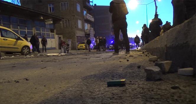 Erzurum'da iki aile arasında kız alma kavgası