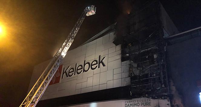 Ankara'da mobilya mağazası yandı