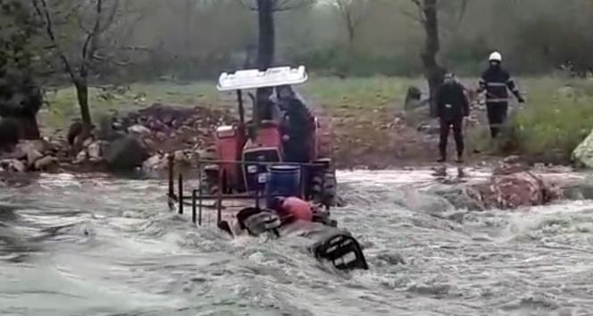 Sel suları arasında can pazarı