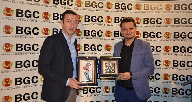Bursa Gazeteciler Cemiyeti'den İHA'ya 2 ödül