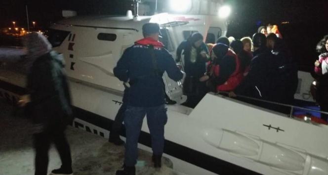 Didim'de 51 kaçak göçmen yakalandı