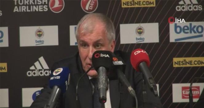 Zeljko Obradovic: 'Çok iyi savunma yaptık'