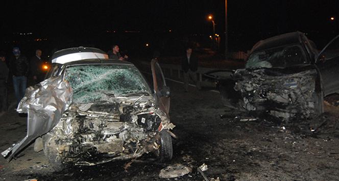 Tekirdağ'da 2 ayrı feci kaza: 1 ölü, 5 yaralı