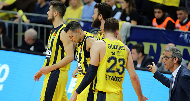 Fenerbahçe, Euroleague'de sahasında 18 maç sonra yenildi