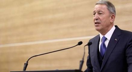 Milli Savunma Bakanı Hulusi Akardan deprem açıklaması