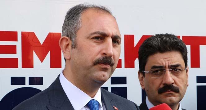 Adalet Bakanı Gül: 'Teröre karşı tüm insanlık ortak bir şekilde mücadele etmelidir'