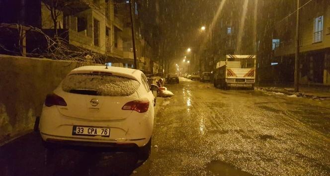 Bitlis'te lapa lapa kar yağdı