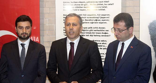 İstanbul Valisi Yerlikaya: 'Yıkacağımız bina dışında 19 tane binayı da güvenlik gerekçesiyle boşalttık'