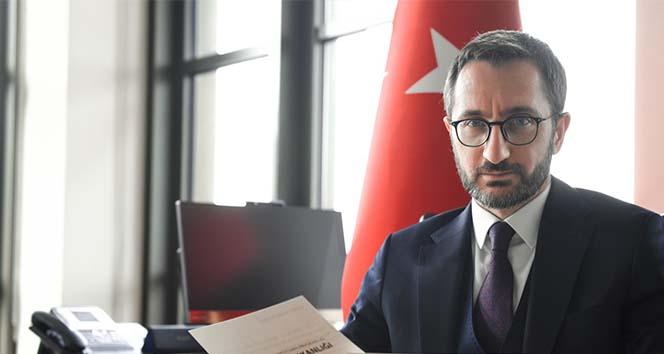 Cumhurbaşkanlığı İletişim Başkanı Altun'dan şehit cenazesinde yaşananlar hakkında açıklama