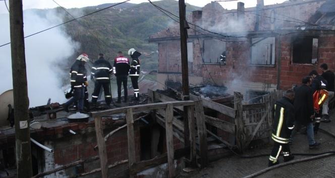 Sinop'ta yangın faciası: 3 ölü