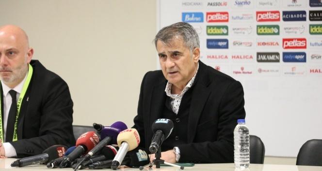 Şenol Güneş: 'Beşiktaş'tan ayrılmanın bir hüznünü yaşayacağım'