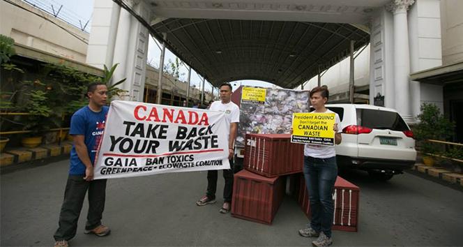 Filipinler'den Kanada'ya çöp yüzünden savaş tehdidi