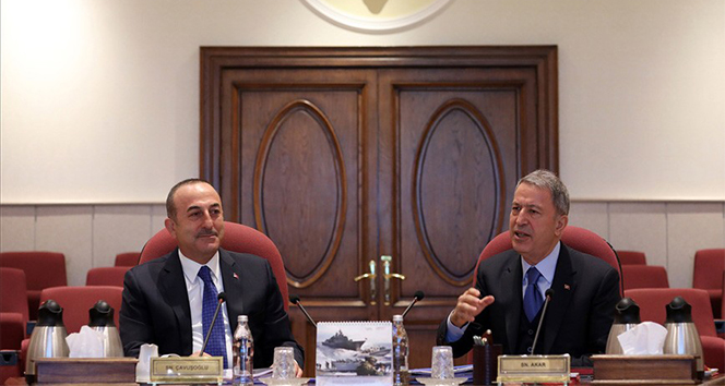 Akar ve Çavuşoğlu'ndan kritik oplantı