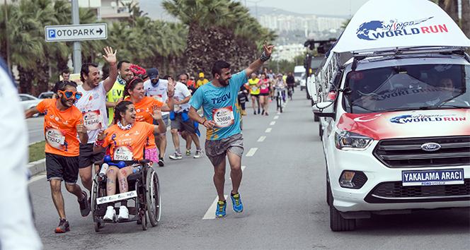 İpek Soylu'dan Wings for Life World Run'a destek