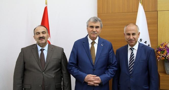 İŞKUR Genel Müdürü Uzunkaya'dan, Başkan Yüce'ye ziyaret