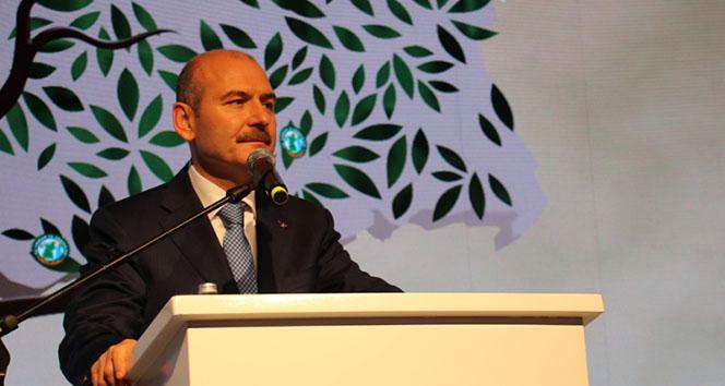 Bakan Soylu: 'Türkiye'nin bütün alanları 1 Mayıs alanıdır'