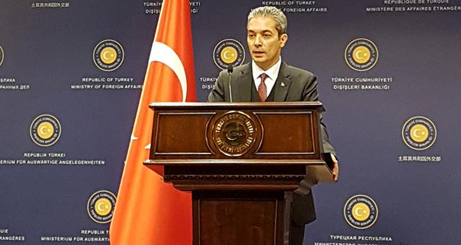 Dışişleri Sözcüsü Aksoy: 'Somut adım bekliyoruz'