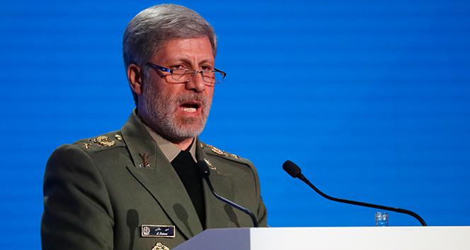 İran Savunma Bakanı: 'Biz Amerikan ve Siyonist cepheyi yeneceğiz'