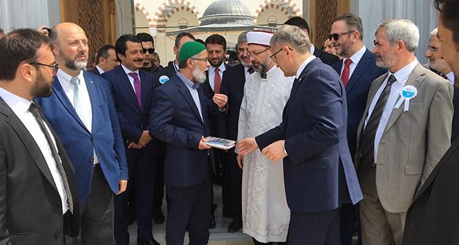 '38. Türkiye Kitap ve Kültür Fuarı' Çamlıca Camii'nde açıldı
