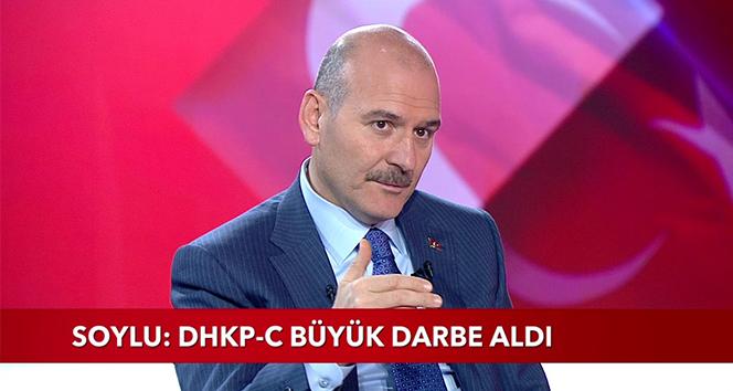 Bakan Soylu açıkladı: TBMM'deki terörist CHP'li Tanal ile bağlantılı