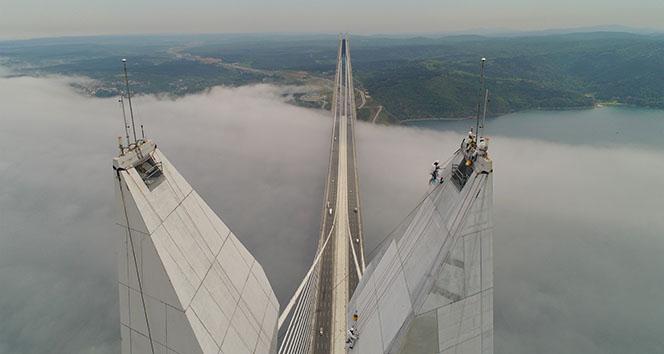 322 metrede nefes kesen çalışma havadan görüntülendi