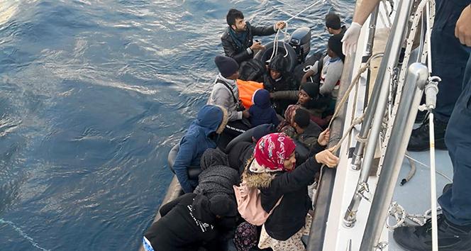 Didim'de 26 düzensiz göçmen yakalandı