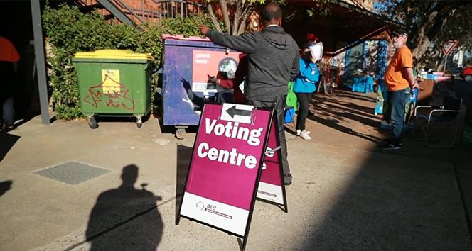 Avustralya'da erken oy kullanma süreci devam ediyor