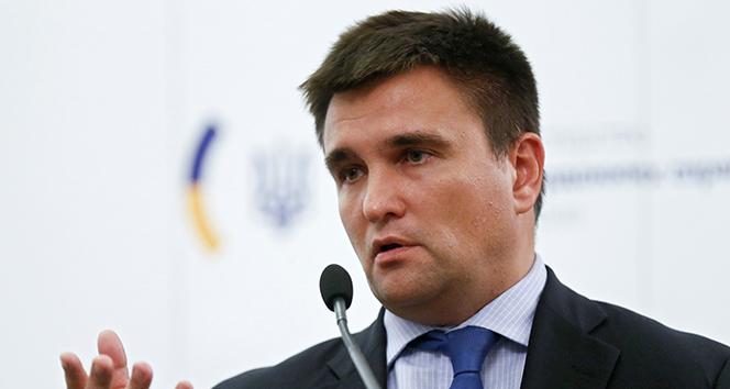 Ukrayna Dışişleri Bakanı Klimkin istifa etti