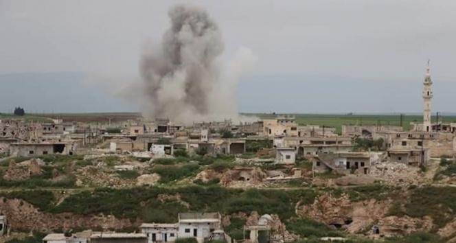 Esed rejimi iftar vaktinde bomba yağdırdı: 2 sivil hayatını kaybetti