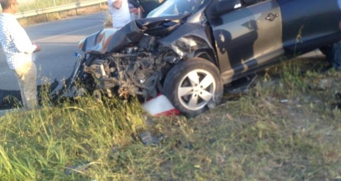 Kahramanmaraş'ta feci kaza: 1'i bebek 5 yaralı