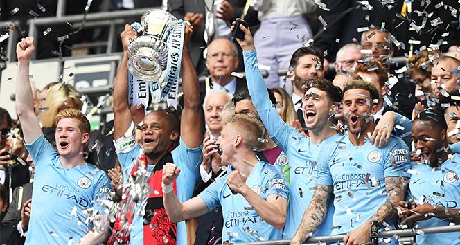 FA Cup Manchester City'nin