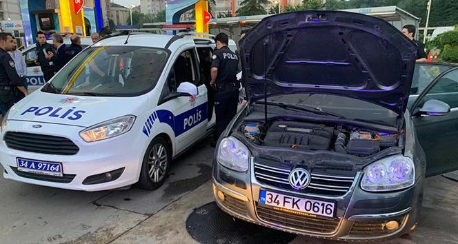 Şişli'de kaçmaya başladı Göztepe'de yakalandı