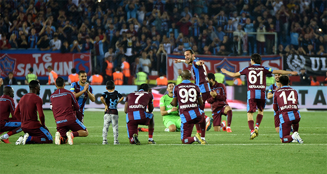 Trabzonspor, 8 sezon sonra 3 büyüklere karşı bir ilke imza attı