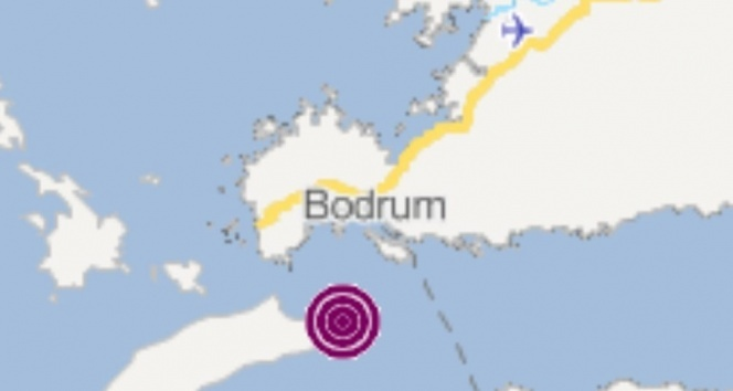 Bodrum'da peş peşe meydana gelen depremler korkuttu
