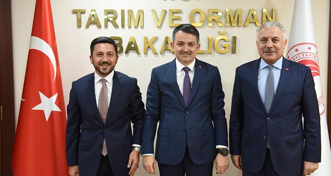 Tarım ve Orman Bakanı Pakdemirli, Nevşehir'e müjde verdi
