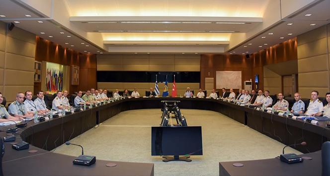 MSB: 'Türkiye ve Yunanistan arasındaki toplantılar Atina'da devam ediyor'