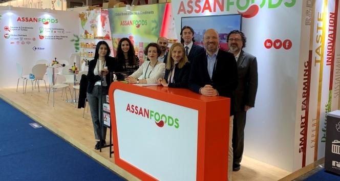 Assan Foods PLMA Fuarı'na lezzet kattı