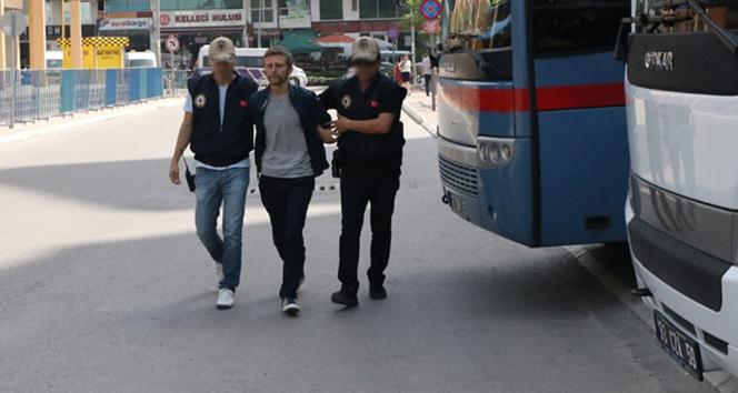 Terörist eylem organize etmek için Mersin'e gelmiş