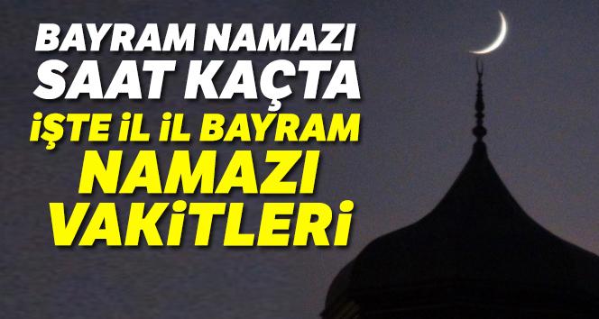 Bayram Namazi Saat Kacta Il Il Istanbul Bayram Namazi Saat