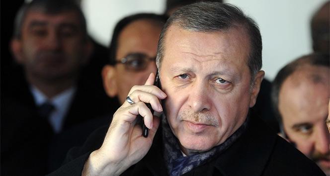 Cumhurbaşkanı Erdoğan, Suudi Arabistan Kralı ile telefonda görüştü !