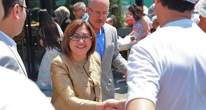 Fatma Şahin'den Binali Yıldırım'a destek