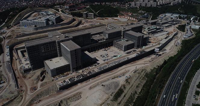 Yüzde 62'si tamamlanan Kocaeli Şehir Hastanesi 2020 yılında açılacak