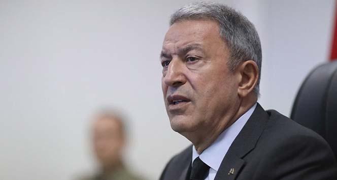 Milli Savunma Bakanı Akar, 'Harekat ile ilgili çalışmalarımız devam etmekte'