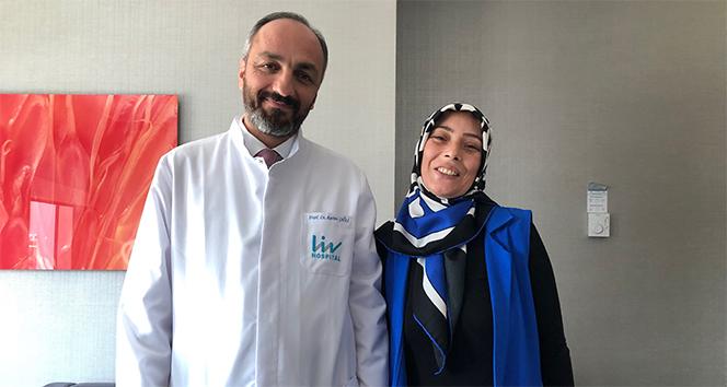 Türkiye'de ilk defa uygulanan kalp ameliyatı tekniğiyle hayata tutundu
