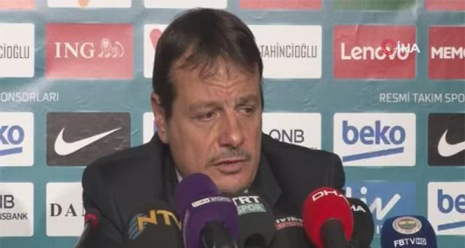 Ergin Ataman: 'İki takım oyuncularını da kutluyorum'