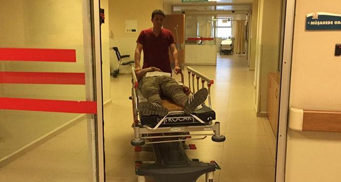 İnegölde feci kaza: 4 yaralı