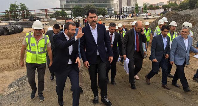 Bakan Kurum: 'İstanbul'daki hedefimiz kişi başı yeşil alan miktarını 2023 yılına kadar 15 metre kareye çıkarmak'