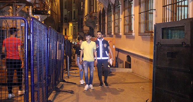 Beyoğlu'ndaki trafik magandaları yakalandı: 7 gözaltı