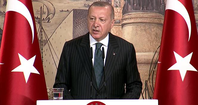 Cumhurbaşkanı Erdoğan: 'Bizim hiçbir ülkenin toprağında, egemenliğinde, içişlerinde gözümüz yok'